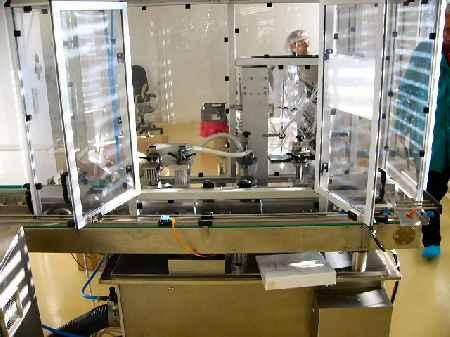 GRONINGER RAM 21000/2 Tube filler - Exapro