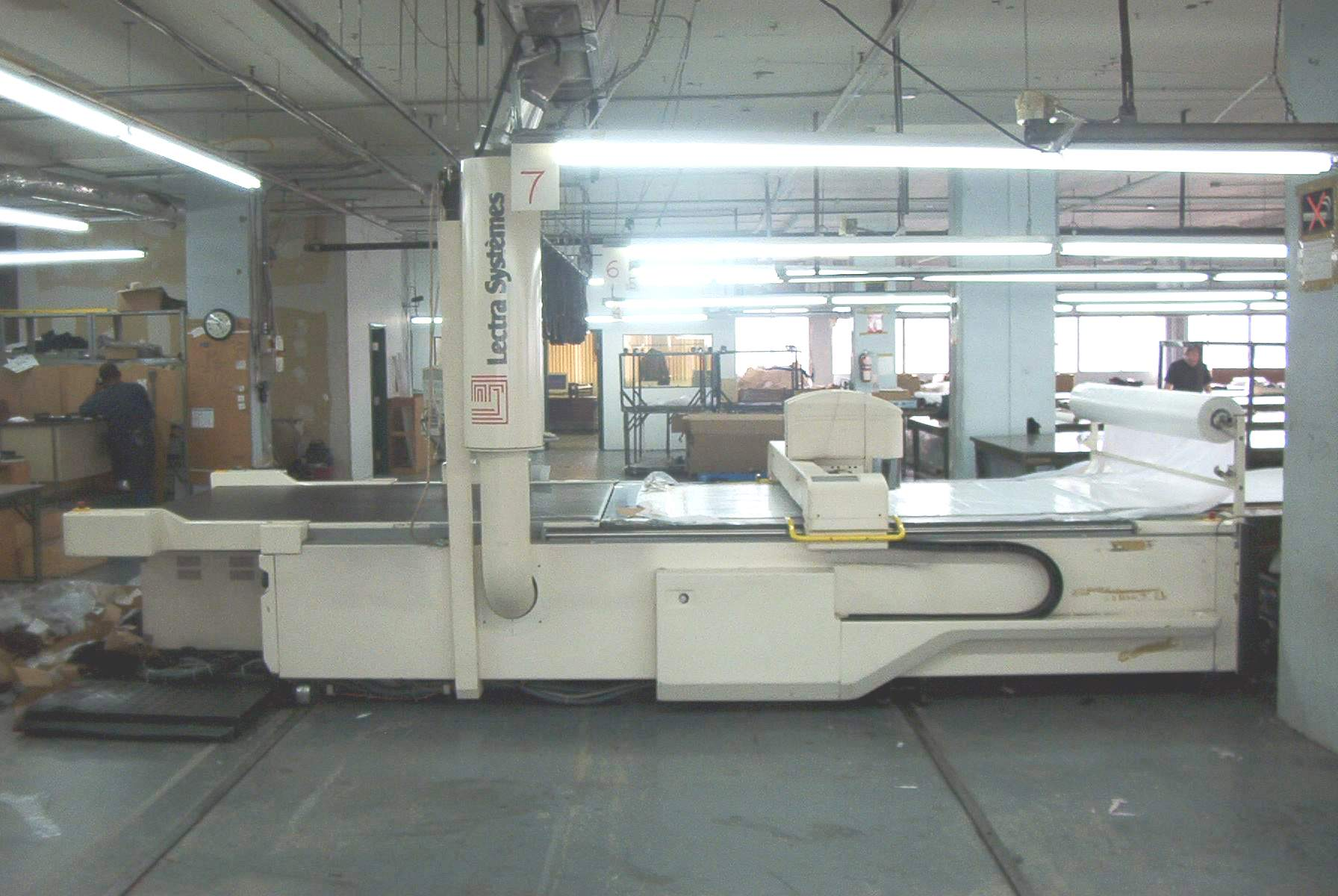 Lectra Vt 5000 Cnc Fabric Cutter Exapro