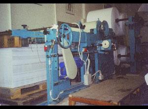 """Taglierina da bobina Jagemberg Werke 130 cm di luce + Taglierina """"Gemella"""" smontata ( da ristrutturare o utilizzare come pezzi ricambio )"""