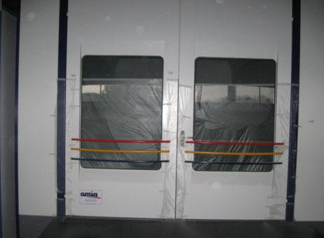 Cabine de peinture omia vs 7m machines d 39 occasion exapro - Cabina pintura ocasion ...