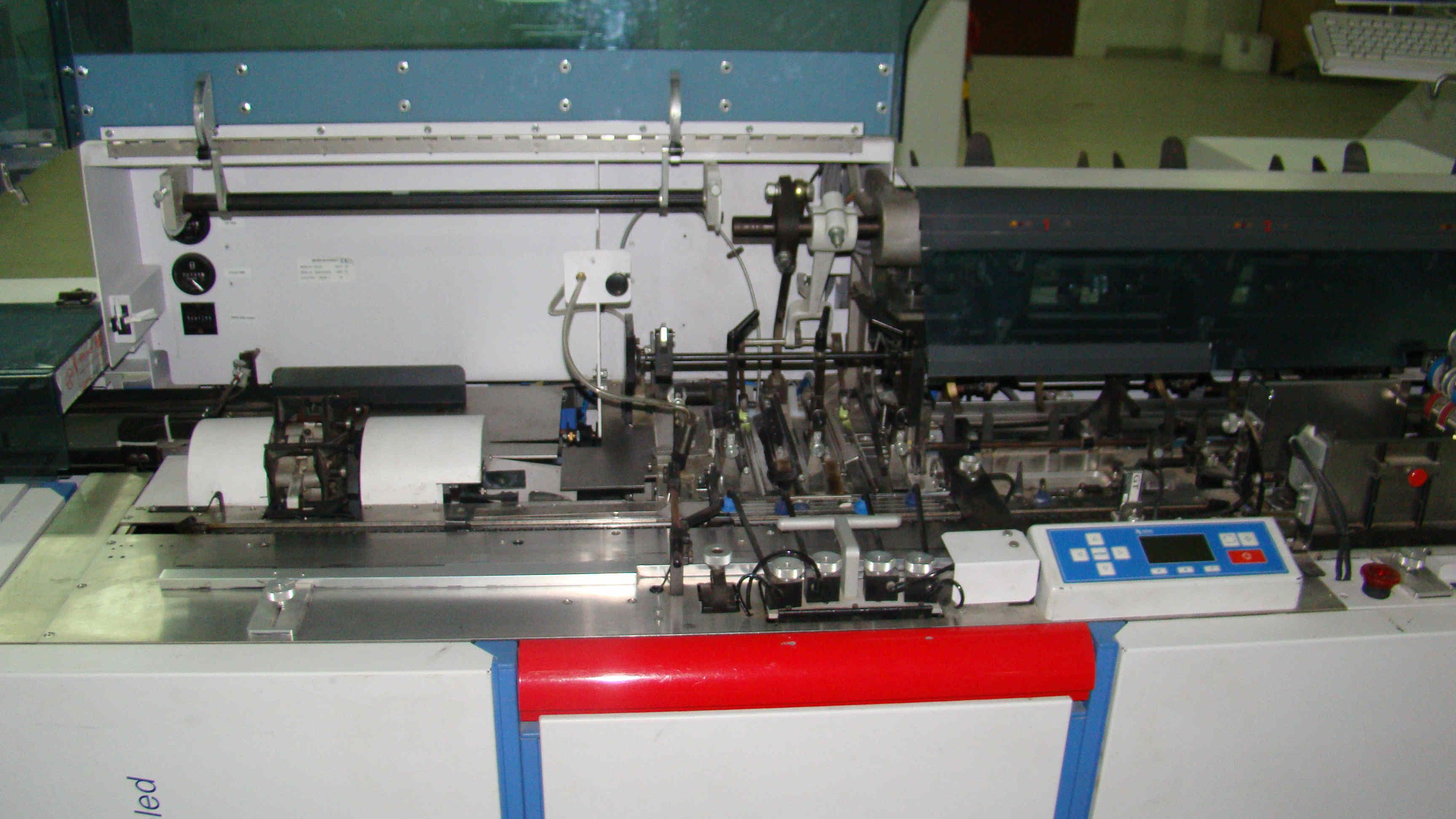 Used Bowe Enduro Mail Inserting Machine With Enclosure