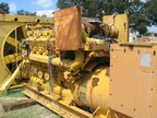 Used CATERPILLAR D398B. Generator set