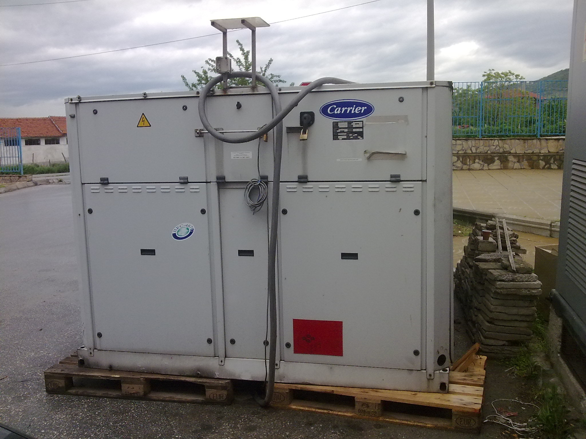 Water cooling chiller Carrier 240 KW Exapro #603D32
