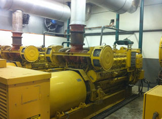 Caterpillar Central of 3 GENSETS 3516 STD P10909171