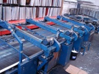 M&R PREDATOR Textile belt screen printer Screen printing machine