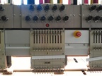 Used ZSK XCF 1811 Multi-heads embroidery machine