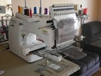 Used HAPPY HCS-1201-30 Knitting machine for gloves / socks / tights
