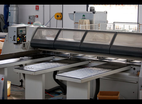 Paoloni Table Saw Used Euromac Tempus 65 Panel saw - Exapro