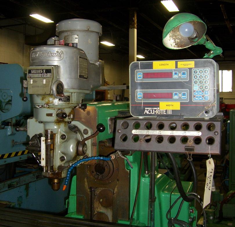 plain horizontal milling machine