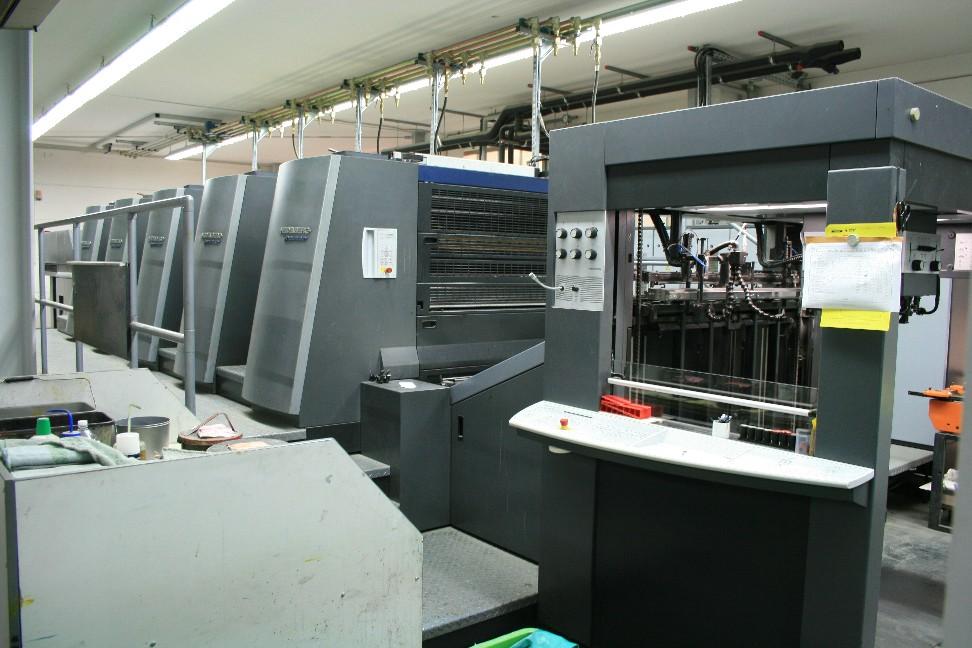komori web offset printing machine
