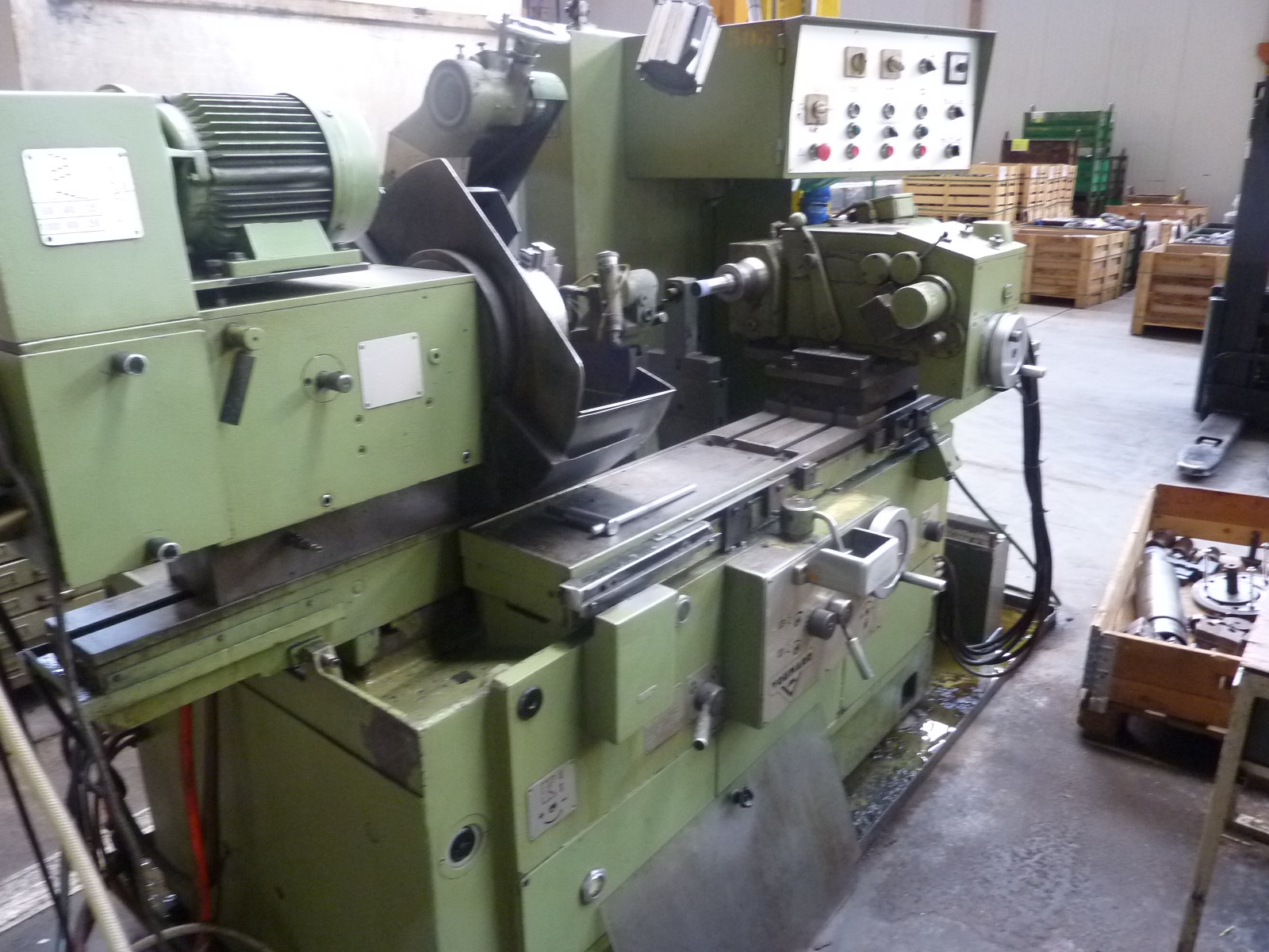 Used Voumard 5 Cylindrical Grinding Machine Exapro