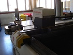 Used Investronica Diamond Compac 7 Automated cutting machine