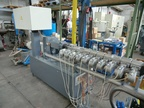 Used LEISTRITZ GL co-rotating  type ZSE LSM 34 Twin Screw Extruder
