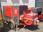Used ARNABAT BH-SMAX 200/700 standing concrete pump