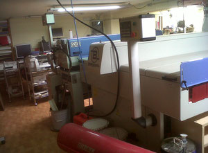 Used Barberan BRN-RR-1400 UV varnishing line