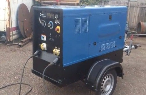 ... machines miller big blue 500x diesel engine site welding machine