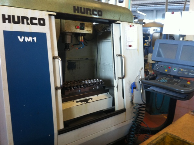 Used HURCO VM1 Vertical machining centre - Exapro