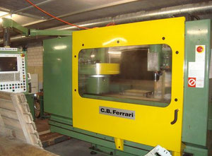 Used C.B. FERRARI B-15 CNC Bed type horizontal milling machine