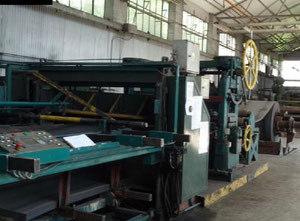 Used straightening and sheetmetal cutting line