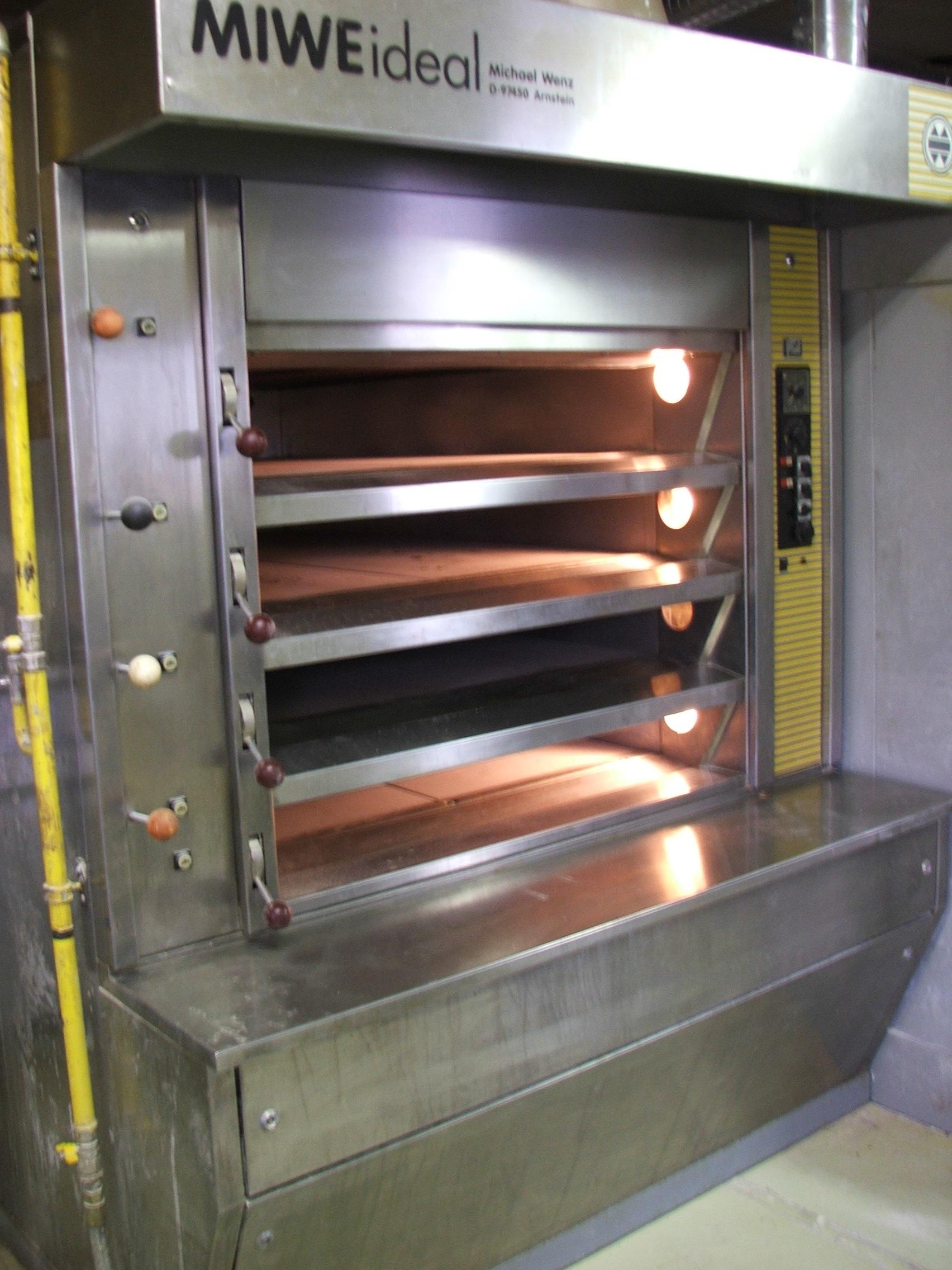 Four de boulangerie MIWE Ideal d'occasion Machines d'occasion - Exapro