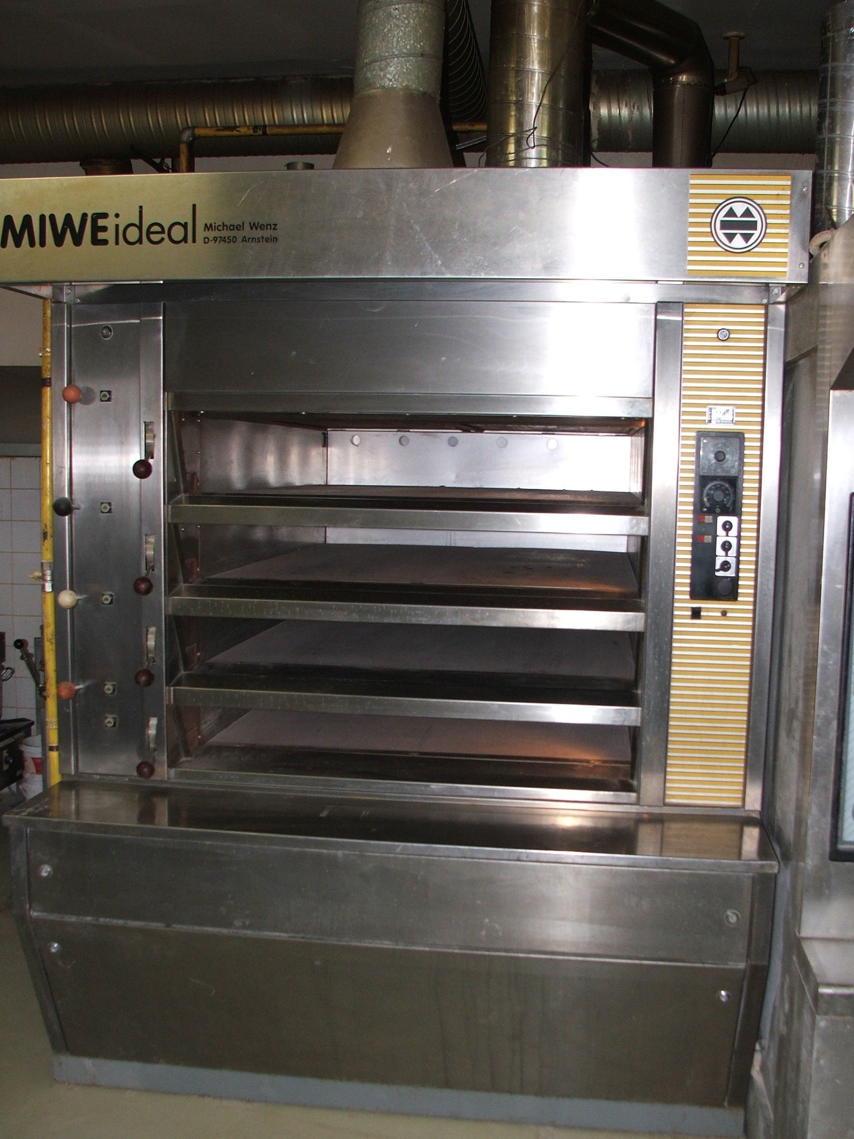 Used Miwe Ideal Bakery Oven Exapro