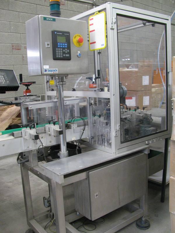 étiqueteuse pour flacons , bouteilles Machines d'occasion - Exapro