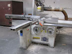 Used Hamech DFTP-400/2800 Wood saw