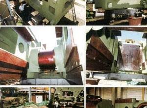Dövme presi Ajax MP 6000 - 6000 t