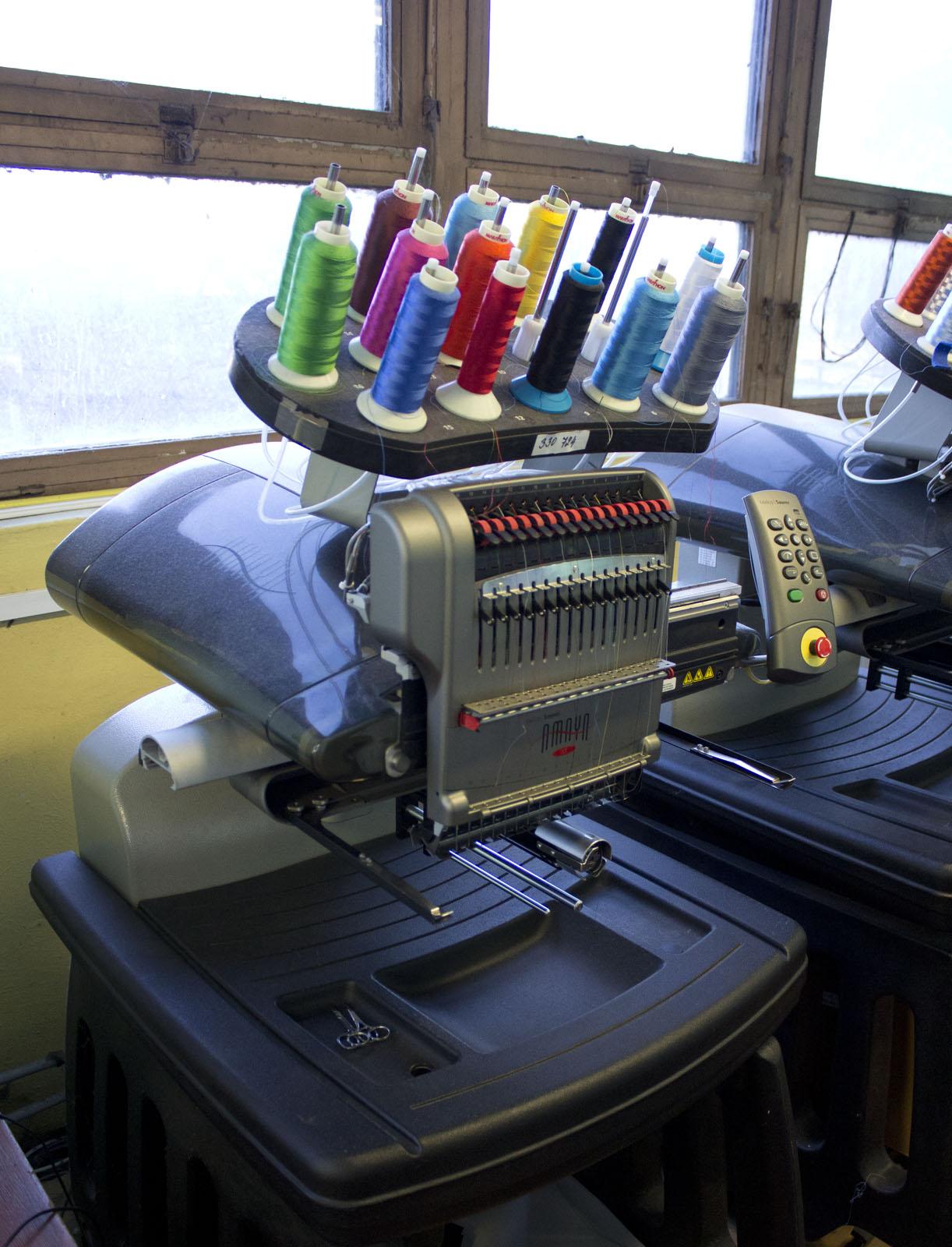 Amaya Xts Stickmaschine Gebrauchte Maschinen Exapro