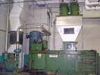 SELCO  Horizontal Baler with collection system Baling press