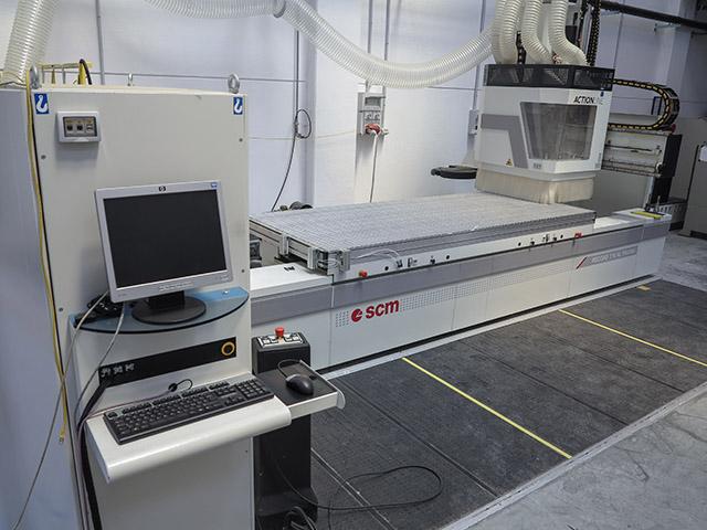 Scm Record 110 Al Prisma Wood Cnc Machining Centre Exapro
