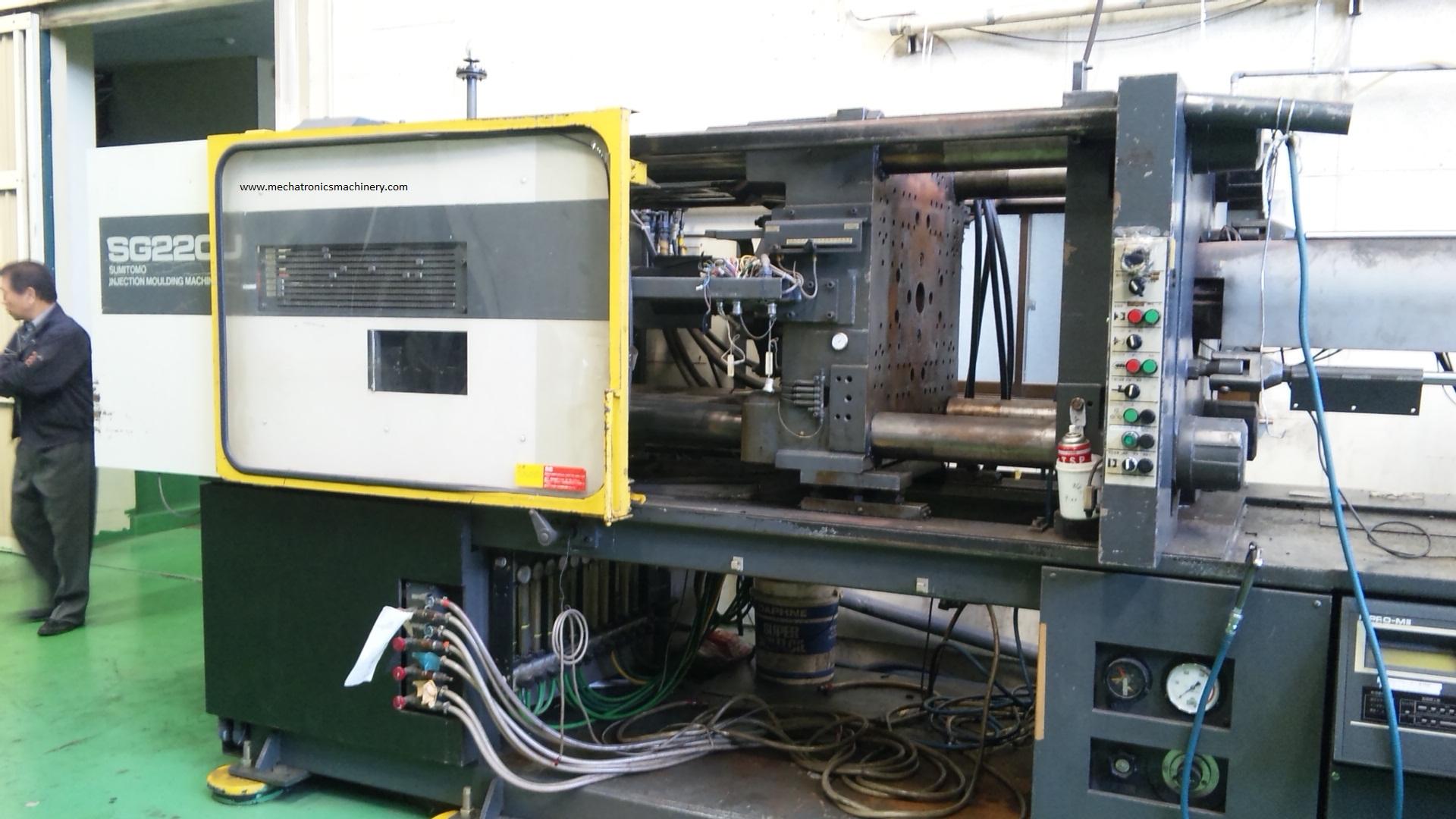 Sumitomo Sh220 Injection Moulding Machine Exapro