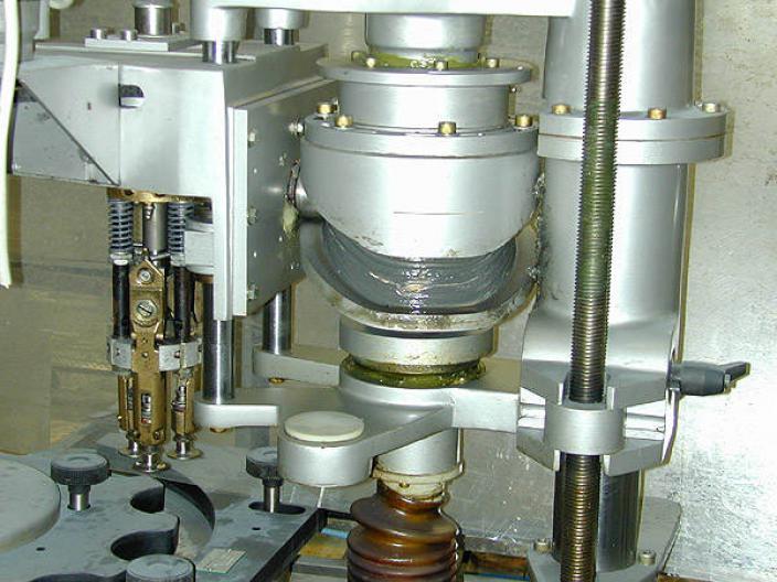Zalkin Tm 150 Capping Machine Capper Crimping Machine