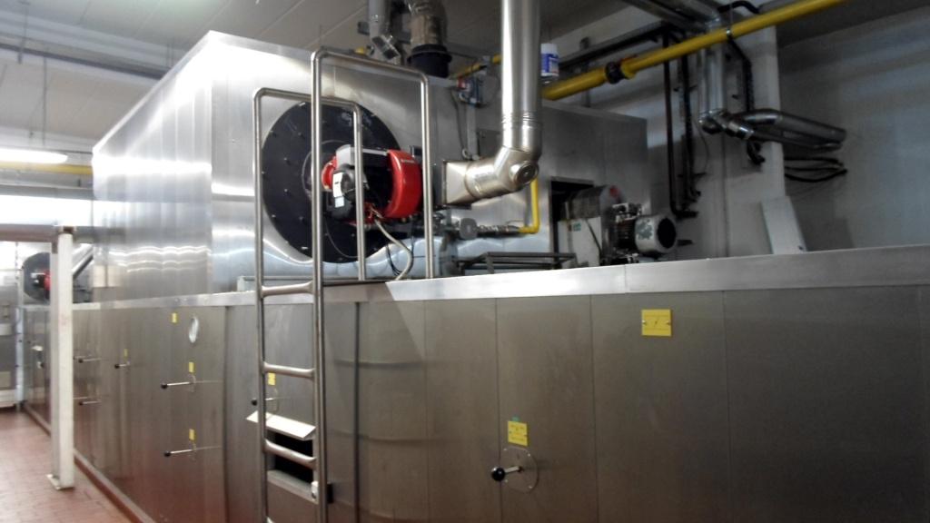 Tunnel de cuisson gostol gopan tp 3 x 36 machines d for Machine de cuisson