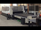 4000 WATT, MAZAK HYPER GEAR 510,  5' X 10' LASER CUTTING MACHINE