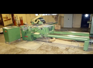 Double blade - sliding table saw HULLHORST