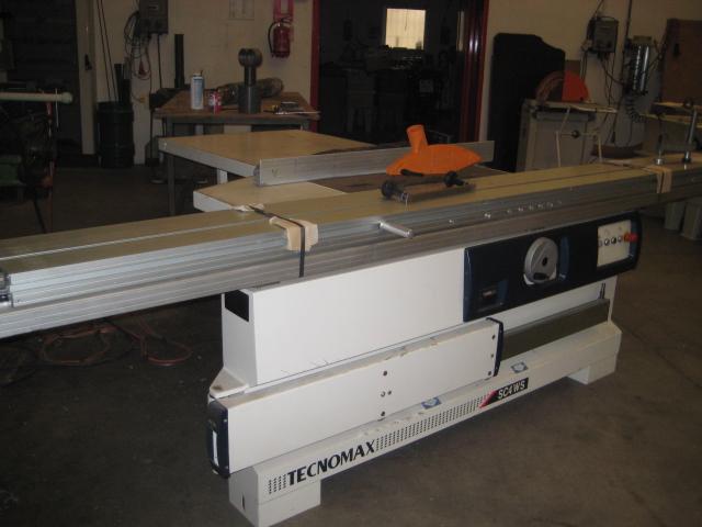 Tecnomax Sc4ws Sliding Table Saw Exapro