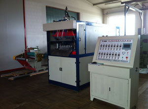 RUIAN JUNDA MACHINERY YX - 660 B Thermoforming machine with extruder