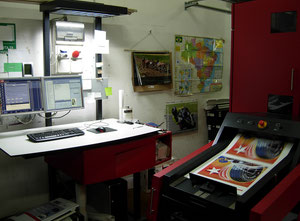 Used Xeikon 5000 Plus Digital press