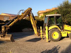 Retrocargadora Excavadora New Holland LB110B