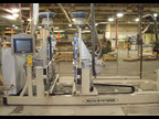 ACCU-SYSTEMS CXD BORE, GLUE, AND DOWEL Wood combined machine