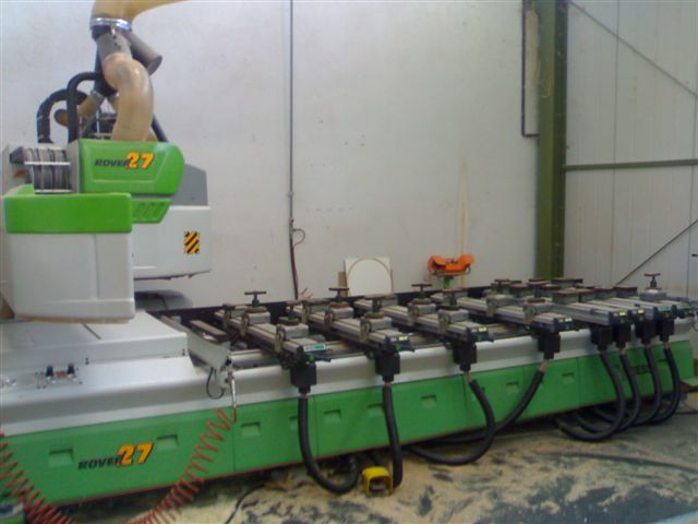 Biesse rover 27 ce wood cnc machining centre exapro for Biesse arredamenti