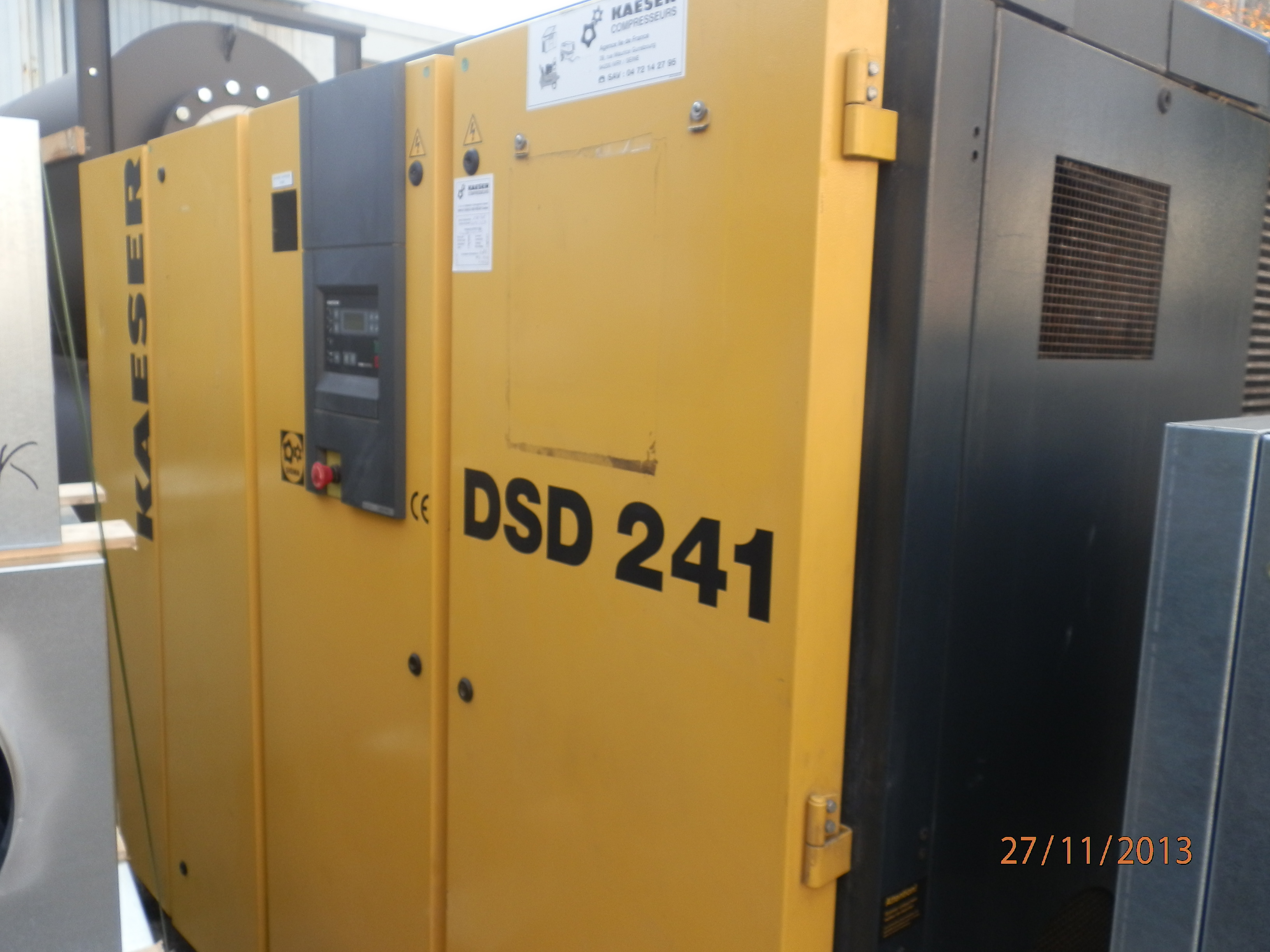 kaeser dsd 241 oiled screw compressor exapro rh exapro com Screw Compressor Kaeser Air Compressor