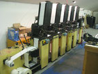 COMCO Cadet 700 Labels printing machine