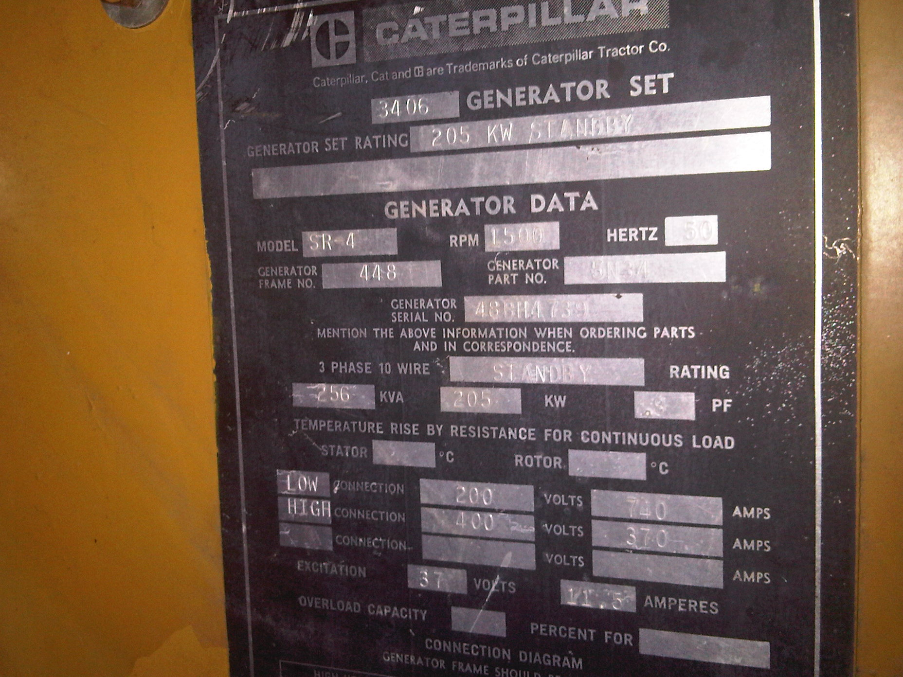 Caterpillar 3406 Generator Set Exapro 10 Wire Wiring Diagram 1 7