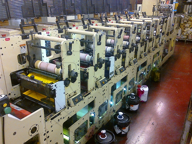 MARK ANDY 2200 Labels printing machine - flexo - Exapro