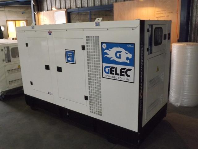 Gelec tiger 137 125 yc generator set exapro for Groupe electrogene 12 kva