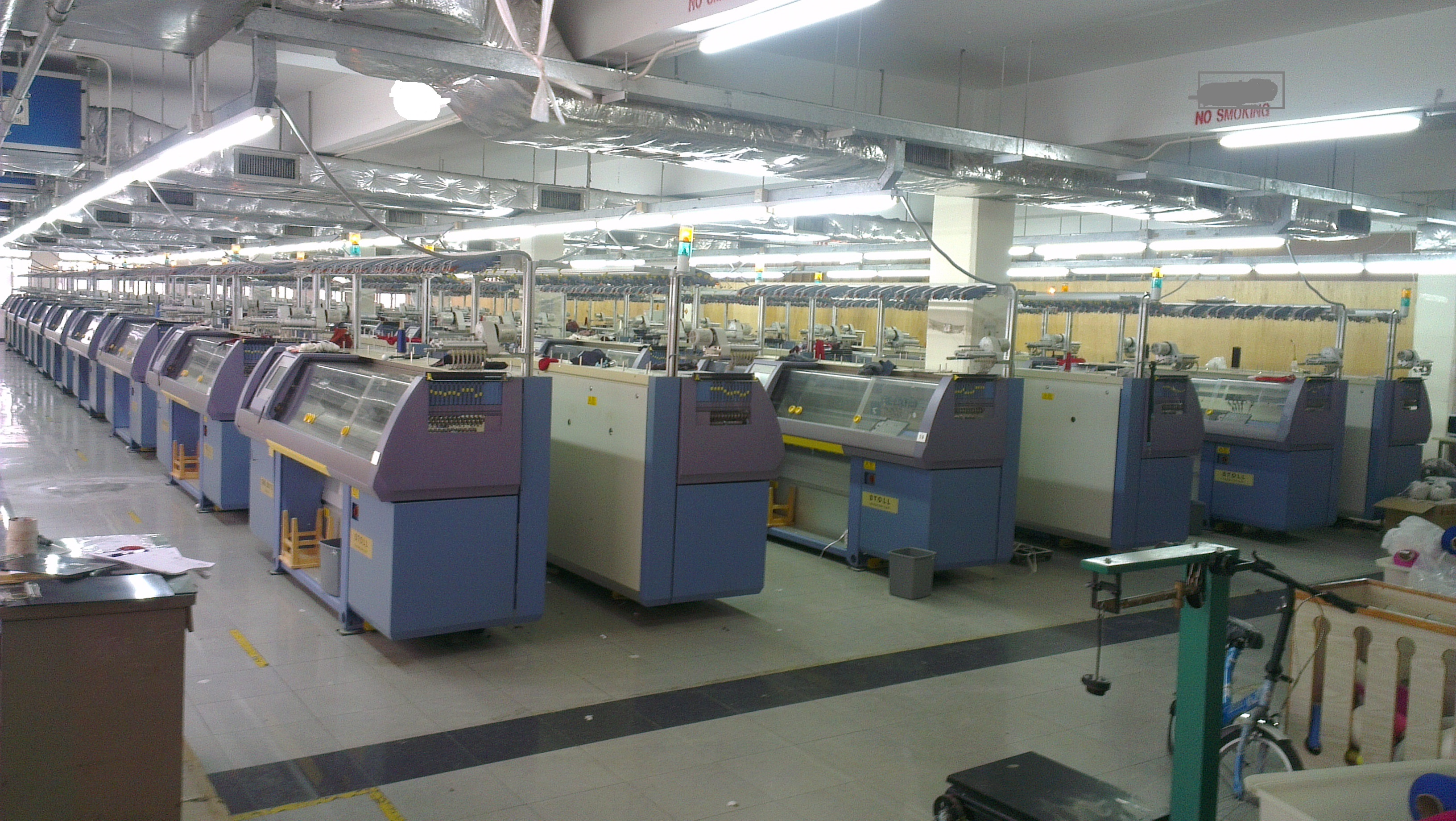 8 X Used Stoll Cms 330 Flat Knitting Machine Exapro