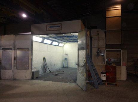 Cabine de peinture champoulet tenere 3000 2400 machines d 39 occasion exapro - Cabina pintura ocasion ...