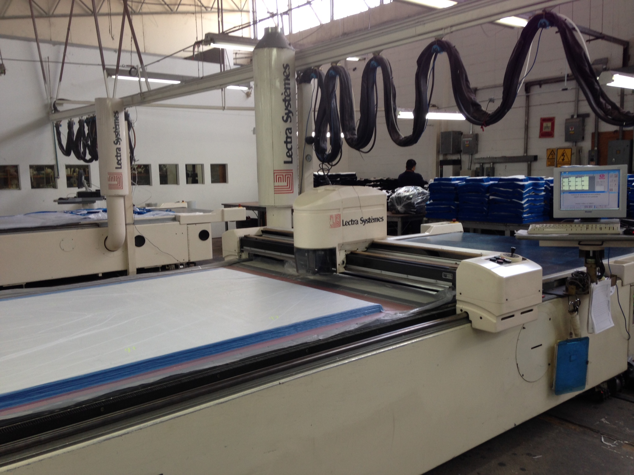 LECTRA VECTOR 5000 V1 Automated cutting machine - Exapro